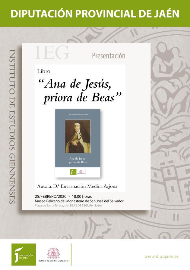 cartel libro ANA DE JESÚS
